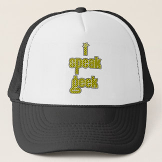 Sun Shine I Speak Geek Trucker Hat