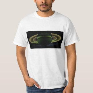 Sun Shining Behind Planet Saturn Casting a Shadow Shirt