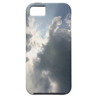 Sun shining through the clouds iPhone 5 covers