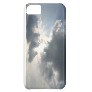 Sun shining through the clouds cover for iPhone 5C