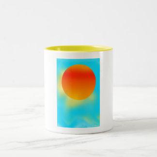 Sun Shiny Cards Two-Tone Coffee Mug