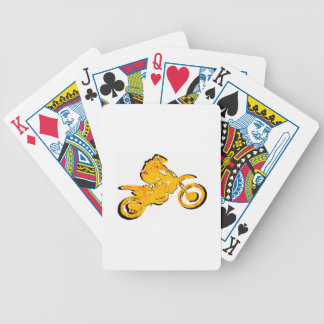 SUN SHOW MOTO BICYCLE PLAYING CARDS