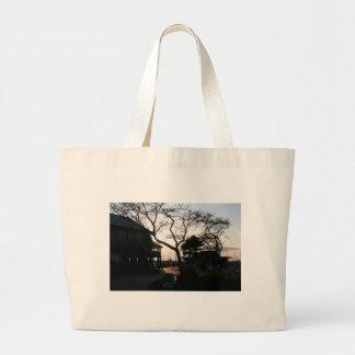 Sun Silhouette Jumbo Tote Bag