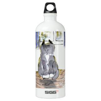 Sun Sitting, Tango, the Cat SIGG Traveler 1.0L Water Bottle