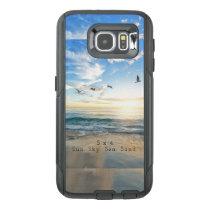 Sun. Sky. Sea. Sand. Beach Scene OtterBox Samsung Galaxy S6 Case