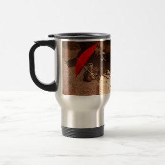 Sun_Smart,_Funny_Meerkat,_Travel_Coffee_Mug Travel Mug