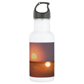 SUN -  Smiles in MORNING, Fades by EVENING 18oz Water Bottle