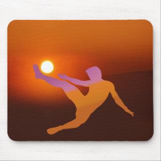 Sun Soccer Mousepad