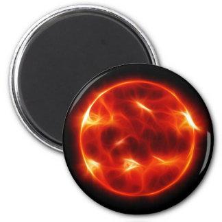 Sun Sol Star Sphere Magnet