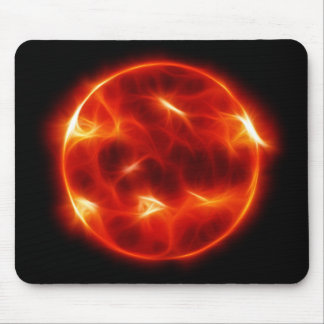 Sun Sol Star Sphere Mouse Pad