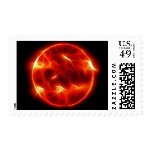 Sun Sol Star Sphere Stamp