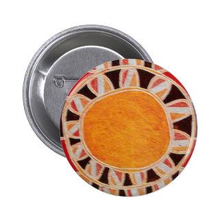 SUN SOLAR ENERGY 2 INCH ROUND BUTTON