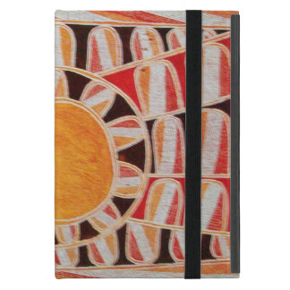 SUN SOLAR ENERGY  Yellow Orange Red Black White Case For iPad Mini