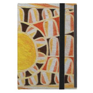 SUN SOLAR ENERGY  Yellow Orange Red Black White Cover For iPad Mini