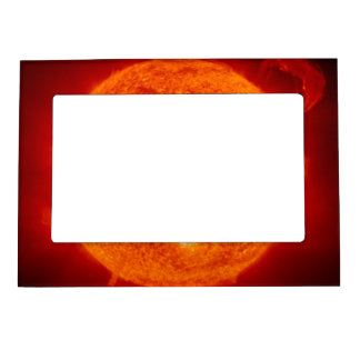Sun Solar Flare Photograph NASA Magnetic Picture Frame