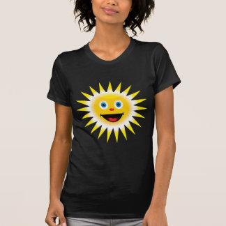 Sun sonriente camiseta