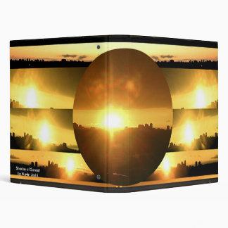 SUN Source of life on earth 3 Ring Binder