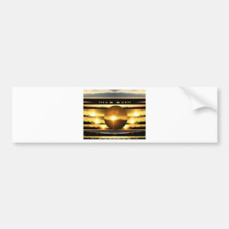SUN - Source of Vital Energy Bumper Sticker