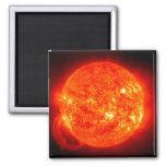 Sun Space Image Fridge Magnet