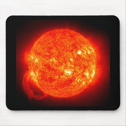 Sun Space Image Mouse Pad