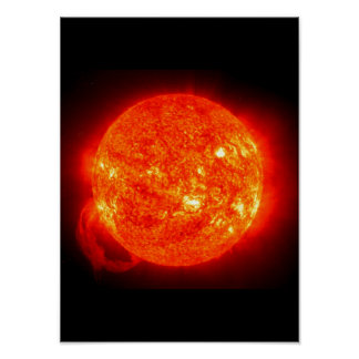 Sun Space Image Poster