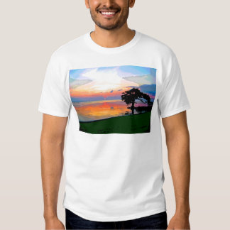 Sun Spill Basic T-Shirt