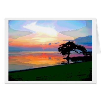 Sun Spill Card Notecard