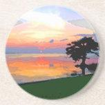 Sun Spill Sandstone Coaster