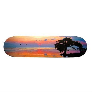 Sun Spill Skateboard