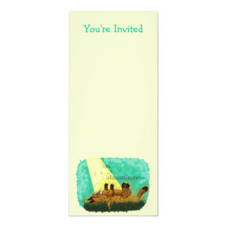 Sun Spot Maximization 4x9.25 Paper Invitation Card