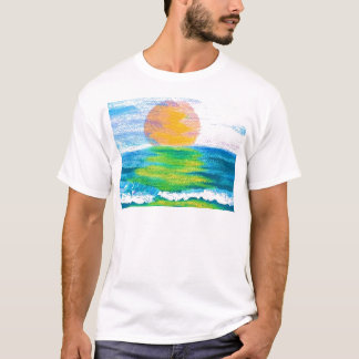Sun Stance CricketDiane Ocean Art Design Products T-Shirt