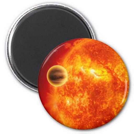 SUN STAR FRIDGE MAGNET
