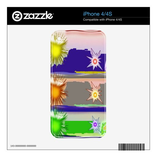 SUN Star Magic Graphics Skins For The iPhone 4S