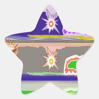 SUN Star Magic Graphics Star Sticker