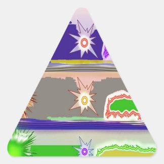SUN Star Magic Graphics Triangle Sticker