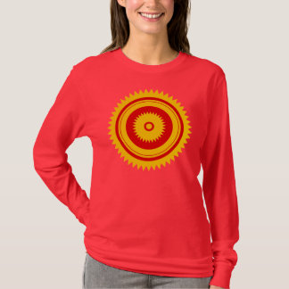 Sun star yellow-moroccan rust T-Shirt