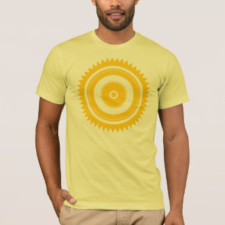 Sun star yellow T-Shirt