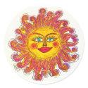 Sun Sticker sticker