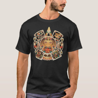 Sun Stone of Tenochtitlan T-Shirt