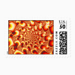 Sun Stone Well - Fractal Postage