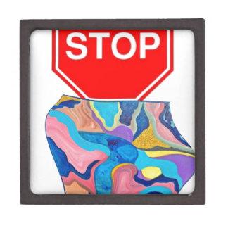 Sun Stop Sign Jewelry Box