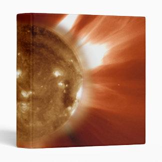 Sun Storm Taken From The SOHO Orbiting Space Lab Binder