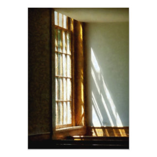 Sun Streaming Through Window Card