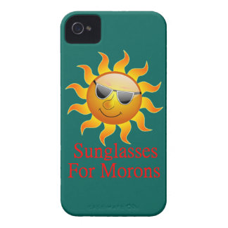 Sun Sunglasses for Morons iPhone 4 Case-Mate Case