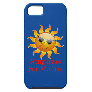 Sun Sunglasses for Morons iPhone SE/5/5s Case