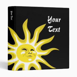 Sun, Sunny Sunshine Binder