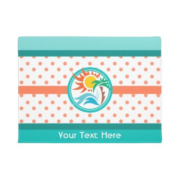 Beach Themed Sun & Surf Doormat