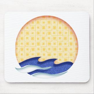 Sun & Surf Graphic Logo Mouse Pad