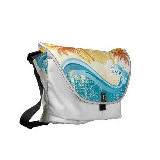 Sun & Surf Messenger Bag