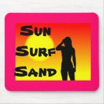 Sun  Surf   Sand Mousepads